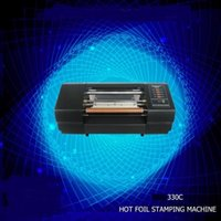 Printers 330C a4 a3 size digital auto wedding invitation card hot stamping foil roller printing machine price