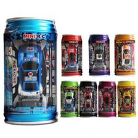 Auto telecomando opzionale in scatola a quattro colori Mini Tomned Remotes Controls Automobili Giocattolo per bambini con serbatoio della cigolio leggero Auto