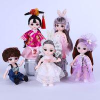 17 см мини принцессы куклы, поп игрушечная кукла кукла, ручная марионетка, милые маленькие принцессы