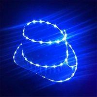 Party Decoration LZ37 LED Luminous Light Hat Ballroom Dance Costumes Dj Car Catwalks Stage Show Wears Clothes Dress Bar