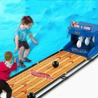 Rastreadores de actividad CDRagon Star Finance 9140 Bowling eléctrico Niños juguete Anotación Dispositivo Simulación Reinicio automático Rollback Padre-niño Intera