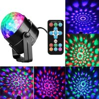 Effects 3W 220V RGB LED Disco Ball Light Bulb Rotating 7 Colors Stage Lighting Chrismas Party Lights Projector