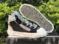 2021 أصيلة جاهزة الحلل منتصف الأحذية في الهواء الطلق الرجال النساء أسود أبيض شاسع رمادي فولت إجمالي أحذية برتقالية 36-45
