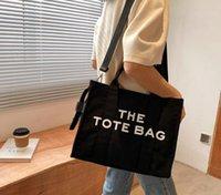 2021 bolsa de moda simple diagonal letra literar letra impresión grande bolsa de hombro
