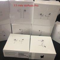 AirPods Pro Air Gen 3 AP3 AP2 H1 رقاقة الشفافية المعدنية المفصلي الحالات شحن سماعات بلوتوث pk pods 2 AP برو AP2 W1 سماعات الأذن الجيل الثاني