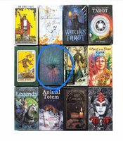 All Style Rider Tarot Deck Engligh Board Game Cards Wild Foll Tarot Familiars Cards Animal Legends Toys Gift
