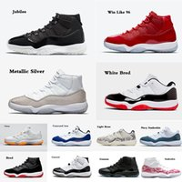 11 sapatos de basquete legal gama gama baixo gama baixo como 96 jubileu navy snakeskin xi homens mulheres 11s treinadores esportes sapatilhas ao ar livre de alta qualidade por atacado tamanho 5.5-13
