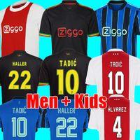قميص كرة القدم MEN + KIDS TADIC HALLER 21 22 KLAASSEN ÁLVAREZ أمستردام لكرة القدم قميص NERES 2021 2022 TAGLIAFICO ANTONY CRUYFF كرة القدم جيرسي
