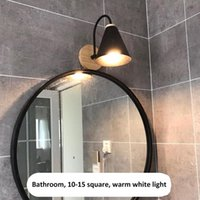 Lamp Covers & Shades Night Light Decor Bedroom Iron Durable Bedside Industrial Style Working Emergency Wall Retro Living Room