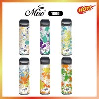 MISO Six Poep Bar Plus XXL Max Одноразовый POD E-сигаретный аппарат 1800Установок 5.5 мл 950 мАч Предовычатая батарея Картридж Vape Pen VS Bang Edge