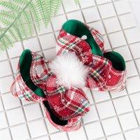 17 * 15 см большие луки зажима волос рождественские клетки девочки головные уборы волос Детские девочки девочки девочки миблы милые барьерные моды 4 8QN G2