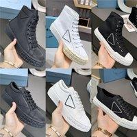 Chaussures décontractées de la concepteur de la concepteur Roue de femmes Cassetta plates-baskets plats haut de gamme Toile de runneur Toile de haut en haut Toile à chaussures de toile de basse gabardine avec boîte