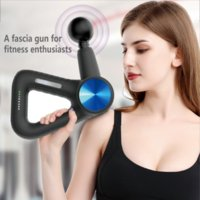 Massage Gun Electric Smart Hit Fascia Gun Pain Deep Tissue Therapy for Body Massager Exercising Relaxation Shaping Slimming