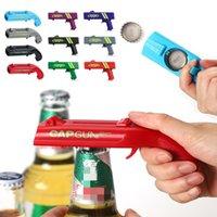 Kitchen Cap Gun Beer Opener Bottle Flying Caps Launcher Shooter Party Drinking Game Toy Gadget Bar Accessories ZC587