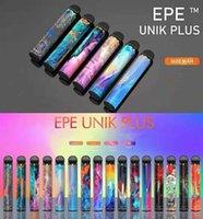 EPE UNIK PLUS Sigarettes Factory Factory Originale VAPE monouso VAPE 2500 + BUFFS POD Dispositivo 1600mAh Batteria 9.5ml Ecigs