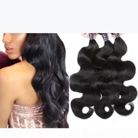 Ishow Human Hair 10A Peruvian Body Wave Hair Bundles 3Pcs 100% Remy Hair Extensions Natural Color Body Wave 8-28 Inch Shipping Free