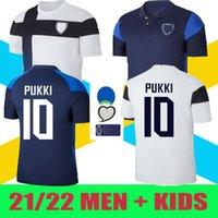 2021 Finlande Soccer Jerseys 21/22 Home Pukki Skrabb Raitala Pohjanpalo Kamara Sallstrom Jensen Lod National Team Football Shirts Uniforme