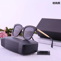Wholesale luxury Korean couple sunglasses ultra light TR90 polarized color film toad glasses GM trendy men's Women's Sunglasses wa