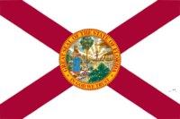 Großhandel Fabrikpreis 100% Polyester 90 * 150 cm 3x5 fts Florida Flagge der Vereinigten Staaten für Dekoration FWF5777