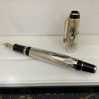 2021 고품질 럭셔리 펜 금속 그리기 표면 롤러 볼펜 및 잉크 펜 고전적인 브랜드 분수 펜 학교