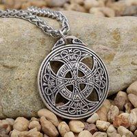Youe Shone Vinkings Rune Pingente Grande Nó Celttic Amor Viking Norue Wiccan Pagan Asatru Colares