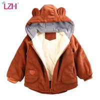 Toddler Kids Boys Parkas Autumn Winter Down Jackets For Boys Clothes Children Warm Thicken Outerwear Coat For Girl Parkas 210426