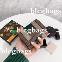 Womens Hohe Qualität Brieftaschen Dame G Designer Pocket Interieur Slot Münze Geldbörse Frauen Leder Tri-Fold Kurze Brieftasche