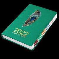 Notepads 2022 Schedule This 365 Days Monthly Weekly Plan Postgraduate Study Work Self-discipline Clocking Note Notebook