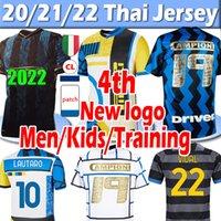 2021 2022 Inter 4th Lukaku Lautaro Alexis Campioni 19 Футбольные трикотажки 20 22 22 Милан Видаль Барелья Мужчины Дети Наборы Джерси Тренировки Футбольные Рубашки
