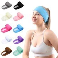 Makeup Headband Soft Adjustable Spa Wash Face Velcro Headbands Hair band for Shower Facial Mask Yoga