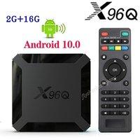 X96Q Android 10.0 TV Box Allwinner H313 2GB + 16GB دعم 2.4G Wifi PK TX3 T95Q X96