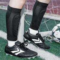 Elbow & Knee Pads 1 Pair Football Shin Guard Calf Compression Sock EVA Basketball Leg Sleeve Support Protector Shields Soccer Protective Gea
