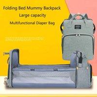 Diaper Bags Bag Nappy Mom Travel Backpack Designer Nursing Baby Care Stroller Handbag Changing Pad Folding Crib