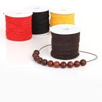 0.8mm 1.2mm 1.5mm Nylon Cable elástico Hilo cuerda Cuerda de cuerda Alambre de abalorios para joyería Fabricación de bricolaje Pulsera Collar Hallazgos