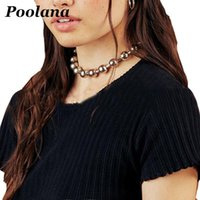 Chokers Stainless Steel Cool Unisex Women Men Chain Choker Ball Metal Link Collar Necklace Fashion Jewelry Accessoriess