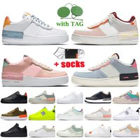 nike air force 1 airforce off white shadow Womens Running Shoes Sombra Dunks 1 Baixo Equipe Vermelho Laranja Ártico Pulso De Pulso Branco Black One Coral Rosa Mens Sneakers