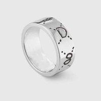 Moda 925 Sterling Silver Silver Anelli Moissanite ANELLI BAGUE PER UOMINI E DONNE PARTY PROMISH BAMBINO GIOIELLI GIOIELLI regalo