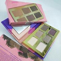 Tase Gliny Paleta Shimmer Glitter Clay Paleta Eyeshadow Paleta Wysoka wydajność Naturals 6 Kolor Prawdziwe zdjęcie Wysokiej jakości
