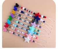 Mouse ear Silicon Bead Pacifier Chain Clips and Teethers Baby Feeding Accessories Infant Safe Pacifier Holders Soother Graciouis Toys