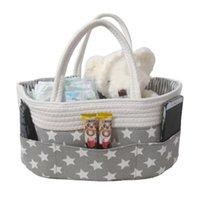 Diaper Bags Foldable Felt Cloth Storage Bag Baby Organizer Big Size Changing Table Toy Basket Car Travel