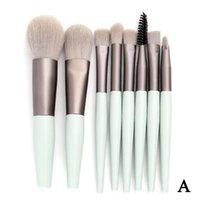 Makeup Brushes 1pc Kosmetika Skönhet och verktyg Kit Ögonblandning Skugga Foundation Blush för pulverprodukter Pieces 8 MAK J8S4