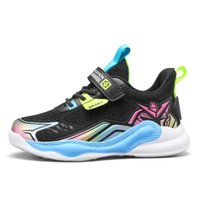 Athletic & Outdoor Mesh Sneakers For Kids 2021 Autumn Toddler Boy Shoes Children Soft Bottom Boys Basketball Sport Shoe Size 28-39