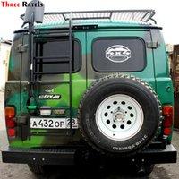 Trzy raty TZ-1334 # 15 * 21.9 cm Naklejki Samochodowe 4x4 Off Droga Dla Lady Niva UAZ Hunter Patriot Funny Naklejki Auto