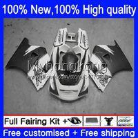 Verklei Kit voor Suzuki 250cc RGV250 SAPC VJ22 RGVT250 88-98 BODYS 32NO.006 RGVT-250 RGV-250 VJ23 94 95 96 97 98 RGVT RGV 250 Grijs wit 1994 1995 1996 1997 1998 Carrosserie