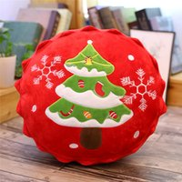 Christmas Tree Pillow Plush Toy Santa Claus Elk Cake Cup Doll Pendant Keychain Decoration Party xmas Gift for Kids Girl