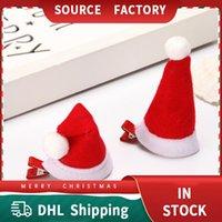 Christmas Children Birthday Festive Hair Ornament Holiday Headdress Duckbill Clip Sweet Selling Cute Headbands Adult Hairpin Head Buckle Hats