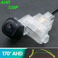 Car Rear View Cameras& Parking Sensors AHD 720P Trajectory Fisheye Camera For 6 ATENZA 2013~2021 3 M3 CX-4 CX4 Axela Reverse Vehicle