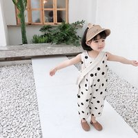 Girls Jumpsuit Cute Rompers Summer Clothes New Fashion ChildrenS Clothing No Package Baby Kids Jumpsuit For Boys