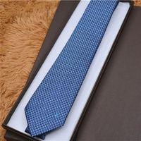 도매 18 스타일 100 % 실크 넥타이 클래식 넥타이 브랜드 남성 캐주얼 넥타이 선물 상자 포장