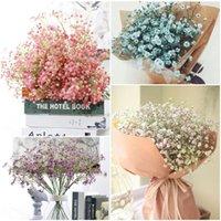 Decorative Flowers & Wreaths 1Pcs Artificial Fake Baby's Breath Gypsophila Silk Bouquet Home Wedding Party Decoration